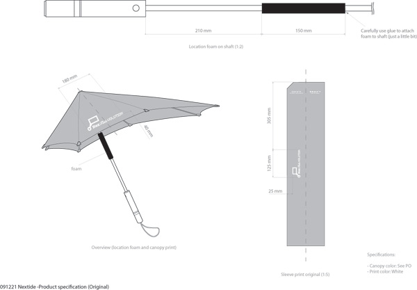 SENZ Umbrellas × NEXTIDEVOLUTION2